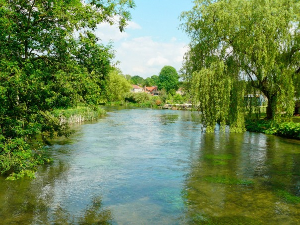 The River Itchen at Twyford