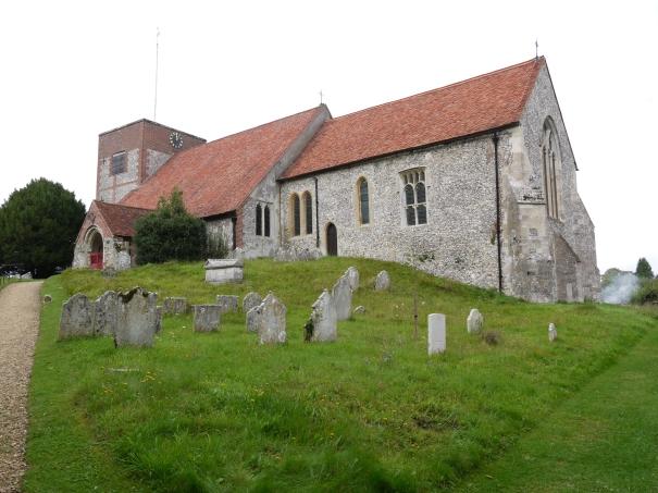 Cheriton church from SE pe