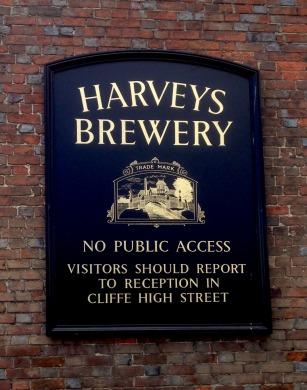 Harveys Brewery notice